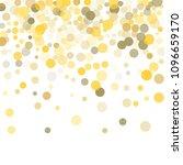 abstract background golden dot...   Shutterstock .eps vector #1096659170