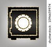 safe sign illustration  crib ... | Shutterstock .eps vector #1096659974