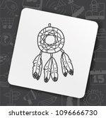 icon idea art bug face   Shutterstock .eps vector #1096666730
