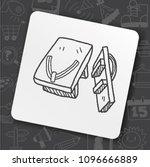 icon idea art bug face   Shutterstock .eps vector #1096666889