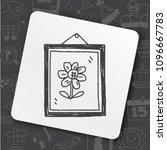icon idea face bug | Shutterstock .eps vector #1096667783