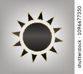 sun sign illustration. vector.... | Shutterstock .eps vector #1096677350