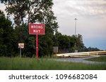 wrong way traffic sign | Shutterstock . vector #1096682084