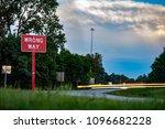 wrong way traffic sign | Shutterstock . vector #1096682228