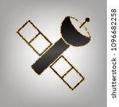 satellite sign illustration.... | Shutterstock .eps vector #1096682258