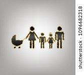 family sign illustration.... | Shutterstock .eps vector #1096682318
