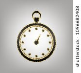 stopwatch sign illustration.... | Shutterstock .eps vector #1096682408