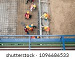 aerial view of construction...   Shutterstock . vector #1096686533