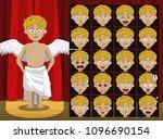 greek diety eros costume... | Shutterstock .eps vector #1096690154