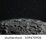 A Lunar Surface Background...