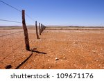 Fence Line In Southern...