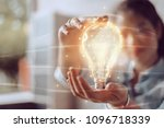 creativity and innovative are... | Shutterstock . vector #1096718339