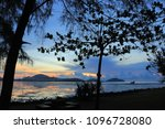 morning sea view colorful | Shutterstock . vector #1096728080