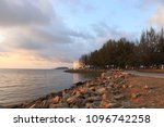 morning sea view colorful | Shutterstock . vector #1096742258
