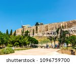 athens  greece 6 june 2017  the ... | Shutterstock . vector #1096759700