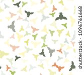 seamless vector pattern with...   Shutterstock .eps vector #1096761668