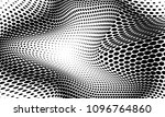 illusion of halftone of dots... | Shutterstock .eps vector #1096764860