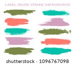 abstract label brush stroke... | Shutterstock .eps vector #1096767098