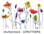 vector background with drawing...   Shutterstock .eps vector #1096770896