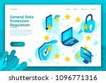 vector concept illustration   ... | Shutterstock .eps vector #1096771316