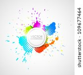 vector abstract background | Shutterstock .eps vector #109677464