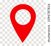 location pin icon on... | Shutterstock .eps vector #1096787816