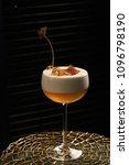 freshly vera cocktail on stand... | Shutterstock . vector #1096798190