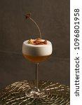 freshly vera cocktail on stand... | Shutterstock . vector #1096801958