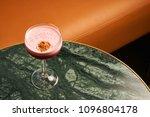 classical katana cocktail on... | Shutterstock . vector #1096804178