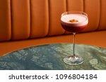 classical katana cocktail on... | Shutterstock . vector #1096804184