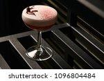 classical katana cocktail on... | Shutterstock . vector #1096804484