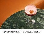 classical katana cocktail on... | Shutterstock . vector #1096804550