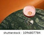 classical katana cocktail on... | Shutterstock . vector #1096807784