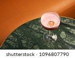 classical katana cocktail on... | Shutterstock . vector #1096807790