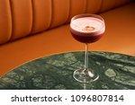 classical katana cocktail on... | Shutterstock . vector #1096807814