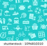 different types of holidays and ... | Shutterstock .eps vector #1096810310