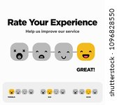 rate your experience help us... | Shutterstock .eps vector #1096828550