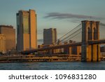 sunrise over manhattan view... | Shutterstock . vector #1096831280