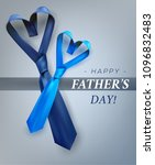 fathers day gift post greeting... | Shutterstock .eps vector #1096832483
