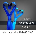 fathers day gift post greeting... | Shutterstock .eps vector #1096832660