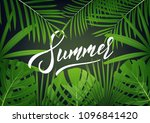 summer. modern design layout...
