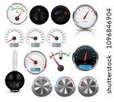 car interior design elements  ... | Shutterstock .eps vector #1096846904