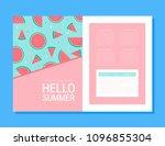 unique concept brochure design | Shutterstock .eps vector #1096855304