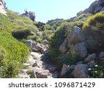 granite rocks with...   Shutterstock . vector #1096871429