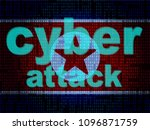 dprk cyber hackers from north... | Shutterstock . vector #1096871759