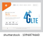 quality one page 4g lte website ...