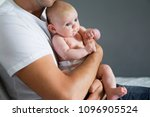 dad and baby close up | Shutterstock . vector #1096905524