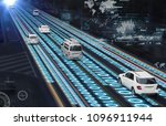 traffic management system... | Shutterstock . vector #1096911944