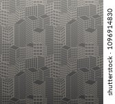 city abstract grey pattern.... | Shutterstock .eps vector #1096914830