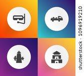 modern  simple vector icon set...   Shutterstock .eps vector #1096919210